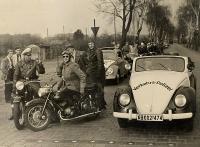 "VW convertible german police ""Verkehrs-Polizei"" 50's"