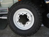 Newwheels and tires