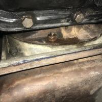 Auto trans leak