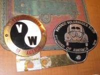 Volkswagen Club of America Badges