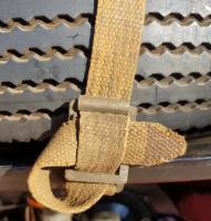 Barndoor spare tire clasp