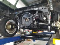 1972 transmission and axle install