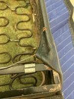 rear seat wooden attachment