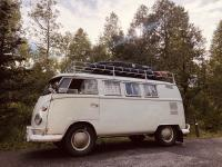 1965 pearl white Caravelle camper