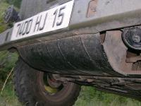 Front skid plate - military Type 181