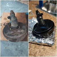 Servo before and after rebuild
