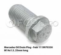 Smallcar drain magnet size