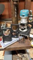 3D printed intake manifold milling jigs