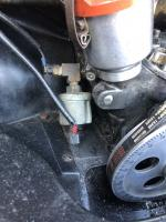 Oil temp/pressure