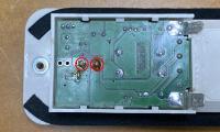 Eurovan Weekender Cabin Light Circuit Board Showing Switch solder joints
