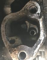 Fuel Pump pushrod cavity