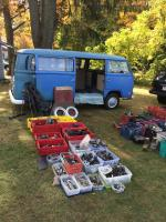 Transporterfest '19 parts spread