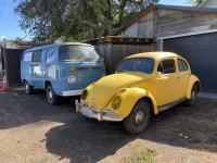 1973 Kombi & 1964 beetle