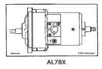 Alternator AL78X