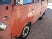 TR-3 paint improvement on 1961 Double Cab door