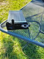 Rear heater core