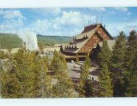 OLD FAITHFUL INN MOTEL Yellowstone National Park WY