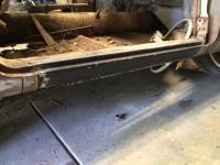 Golde ghia rust repair