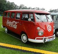 Brazilian Coke bus