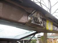 Rear hatch switch stop