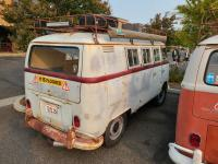 Camper Buses at the SOTO Fall Meet 2021