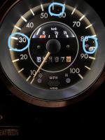 73 Super Speedometer marks