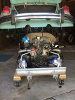 engine removal & installation clearance heights