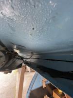 Rear leak