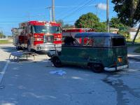 Wrecked '67 Bus in Florida
