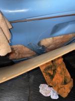 Rear hatch leak