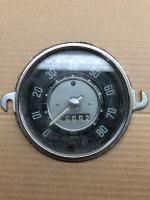 NOS Clear Needle Beetle/Karmann Ghia Speedometer - 6/58