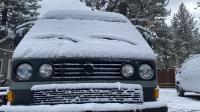 vanagon in teh snow