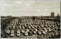 Wolfsburg employee parking 1964