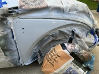Painting the 1964 beetle