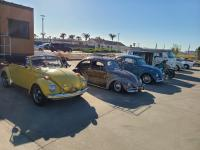 Convertible Bug at the VW Enthusiasts Alameda Meet