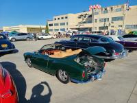 Convertible Ghia at the VW Enthusiasts Alameda Meet