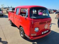 Bay Double Cab at the VW Enthusiasts Alameda Meet