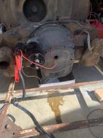 Bug engine oil leak