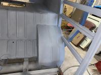 rear wheel tub repair