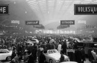 1957 Turin Italy auto show