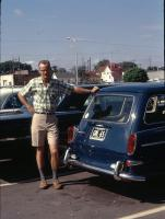 Cobalt Blue L630 Squareback San Antonio Texas Inter-Continental Motors Vintage Photo