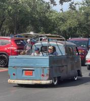 1960 Double cab VW harvest show