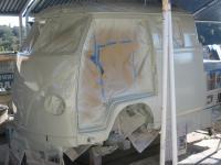 paint job on Double Cab