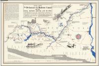 d & H canal map
