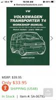 Shop manual pics