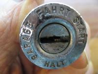 1965 steering ignition lock