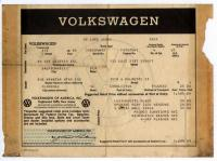 '66 Bug Window Sticker