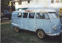 Before and After - Early Kombi