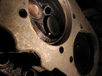 Bolt in valve.