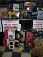 German Dreams 4th Annual VW Showoff raffle prizes